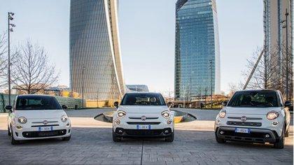 Esta edición está disponible en 3 modelos de la familia Fiat 500