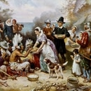 The First Thanksgiving (Obra de Jean Leon Gerome Ferris)