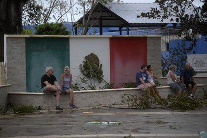 Los hoteles también han iniciado las labores de limpieza. (Foto: AFP)