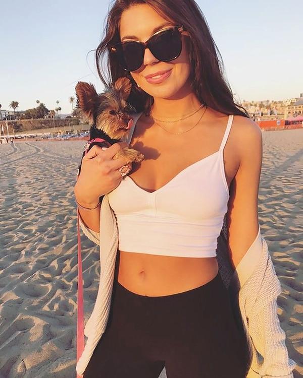La última foto de Instagram de Olivia Lua antes de su muerte, publicada hace dos días