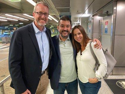 Roberto Marrero llegó a Estados Unidos para reunirse con su familia