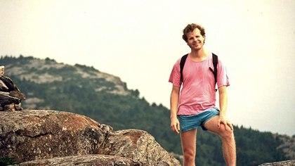 El estudiante estadounidense Scott Johnson fue arrojado desde un acantilado cercano a Sydney en 1988.