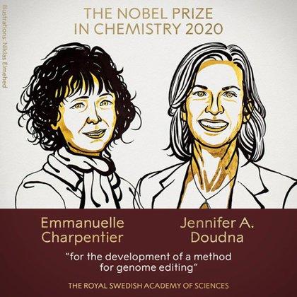 Las ganadoras del Premio Nobel de Química 2020