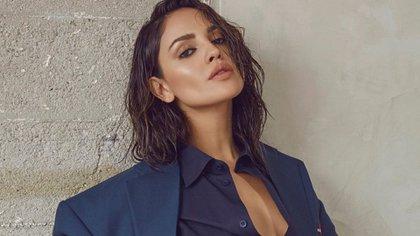 La actriz criticó que se le comparara con Belinda y dijo que eso ha causado que se minimice a las mujeres (Foto: Instagram @eizagonzalez)