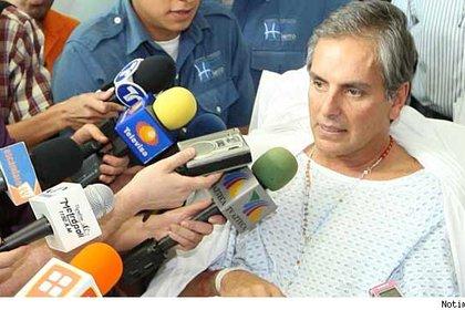 Xavier sufrió un terrible accidente en moto