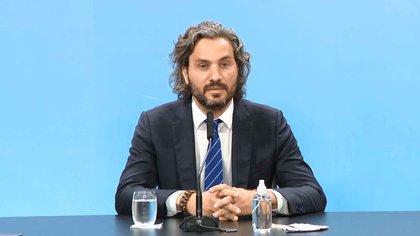 El jefe de Gabinete, Santiago Cafiero