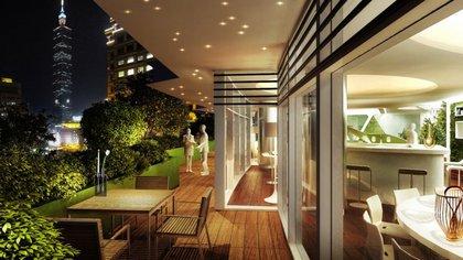 """En el interior de cada departamento también habrá """"mucho verde"""" (Vincent Callebaut Architectures)"""