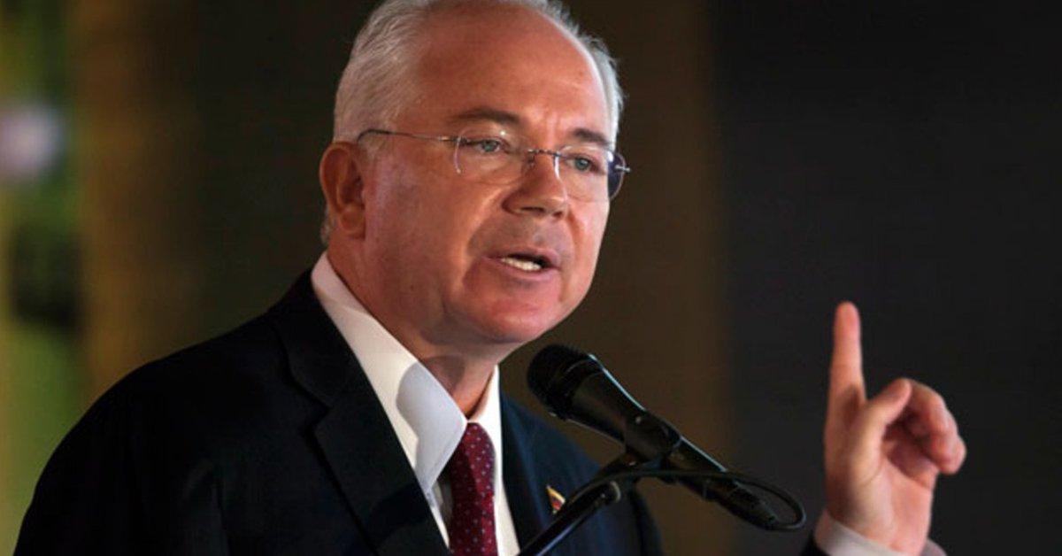 "Rafael Ramírez, ex-minister of Petróleo de Hugo Chávez: ""We are preparing to retaliate against Maduro"""