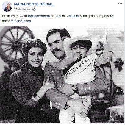 Una foto que Sorté compartió en su cuenta de Facebook