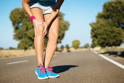 Las lesiones de rodilla es una de las más frecuentes en los deportistas (Shutterstock)