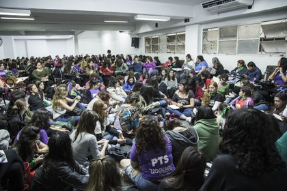 Imagen tomada durante el último Encuentro Nacional de Mujeres