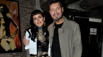 Candelaria y Marcelo Tinelli