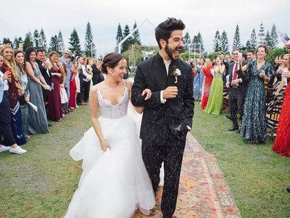 La boda de Evaluna Montaner se realizó en Miami (Instagram)