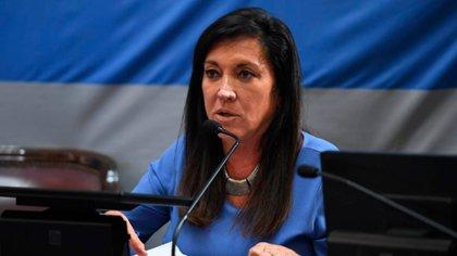 Laura Rodríguez Machado, senadora de Juntos por el Cambio que quiere ir por la reelección
