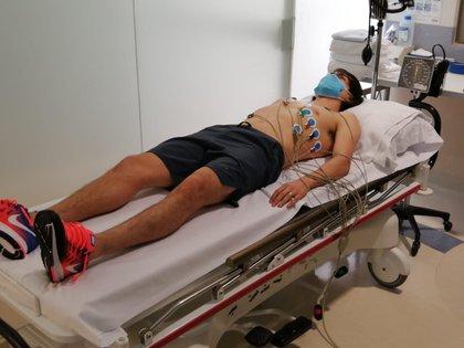 El Shaggy Martínez presentó los exámenes médicos (Foto: Twitter/ @CruzAzulCD)