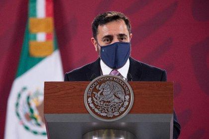 Arturo Reyes durante su presentación como nuevo Director General del IPN (Foto: Presidencia de México)