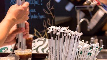 El uso de sorbetes ha disminuido en los últimos años (Shutterstock)
