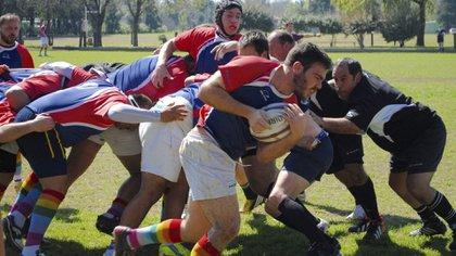 Los Ciervos Pampas juegan en un torneo empresarial (Ciervos Pampas Rugby Club)