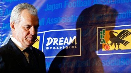 Tras ser acusado por amaño de partidos en España durante su paso por el Zaragoza, Javier Aguirre fue cesado como entrenador de la Selección de Japón (Foto: Reuters)
