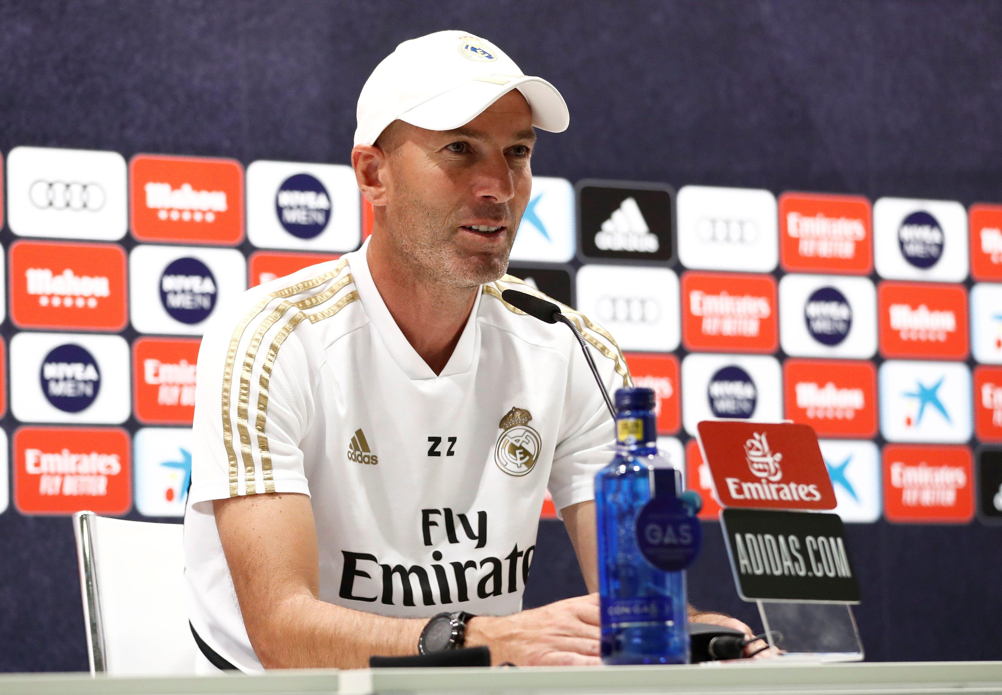 El entrenador del Real Madrid, Zinedine Zidane (EFE)