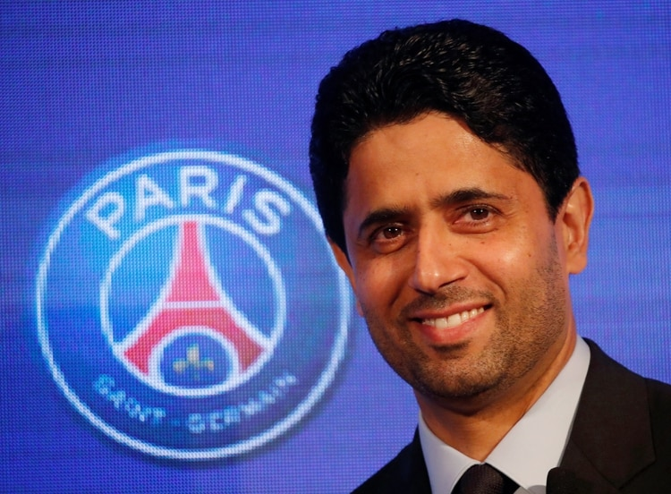 Nasser Al-Khelaifi, presidente del PSG (Reuters)
