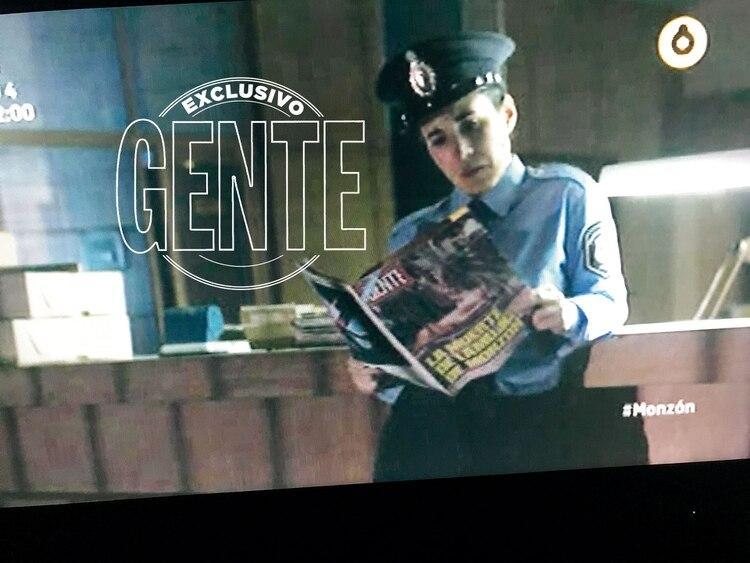 Una imagen del programa dirigido por Jesús Braceras que recrea algunos momentos de la trama (en este caso el asesinato de Alicia Muñiz, en febrero del '88), visto con los ojos de nuestra revista.