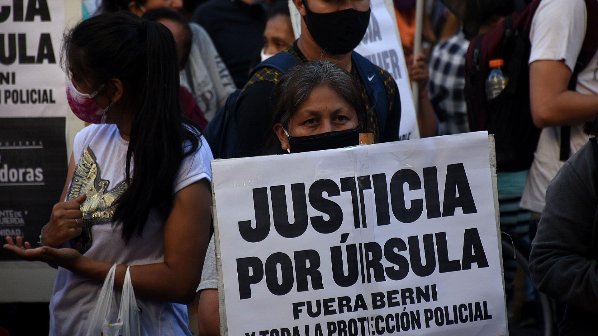Justicia por Ursula / Casa de la Provincia Femicidio de Úrsula Bahillo