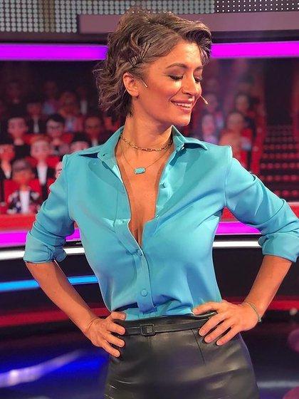 Carla Conte contó por qué decidió dejar de teñirse (IG: @negraconte)