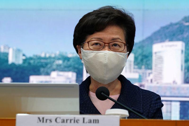 La directora ejecutiva de Hong Kong, Carrie Lam (REUTERS/Lam Yik)