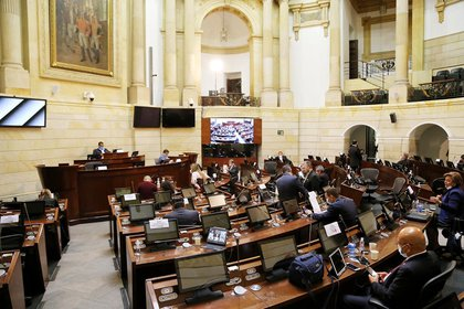 Imagen de referencia del Congreso de la República. - Colprensa.