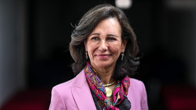 Ana Botín (Bloomberg)