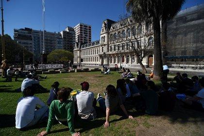 Desde las 17 habrá una manifestación en el Palacio Sarmiento (Nicolás Stulberg)