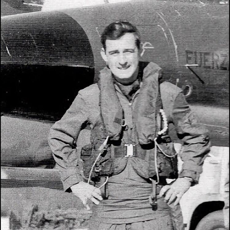 José Pepe Ardiles, héroe de Malvinas, que fue derribado por aviones ingleses