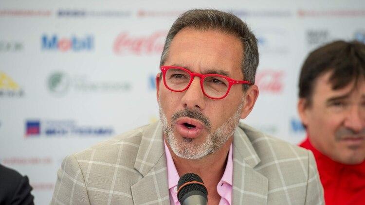 Matosas aseguró en tono de broma que llevará audífonos a los entrenamientos para no aburrirse (Foto: Cortesía Atlético San Luis)