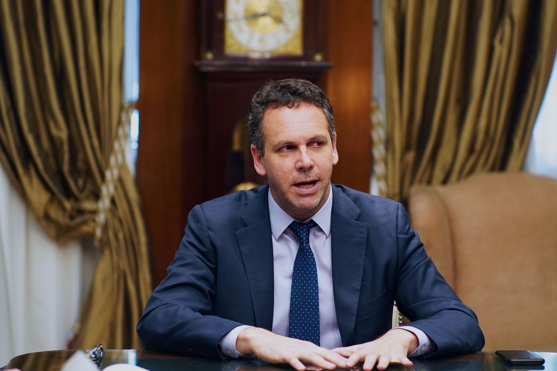 Guido Sandleris, presidente del BCRA. (Bloomberg)