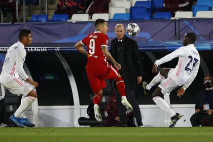 Zidane estuvo vinculado a la Juventus en 2018 tras abandonar por un tiempo el banquillo merengue (Reuters)