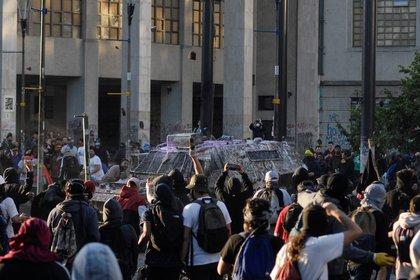 Chile se ha visto envuelto en protestas durante más de 40 días. REUTERS/Jose Luis Saavedra