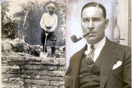 Frederick Mitchell-Hedges, aventurero, arqueólogo y escritor inglés