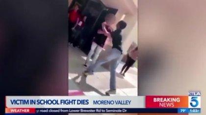 Autoridades del plantel educativo dijeron que ambos sospechosos son estudiantes de excelencia. (Foto: captura de video)