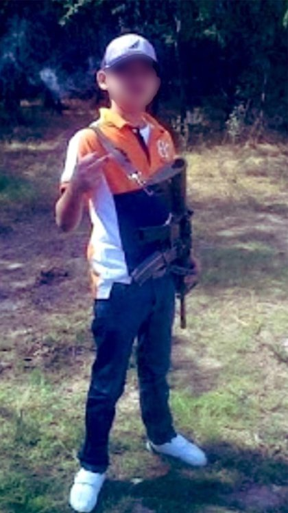 Juanito Pistolas (Foto: Twitter@MrElDiablo8)