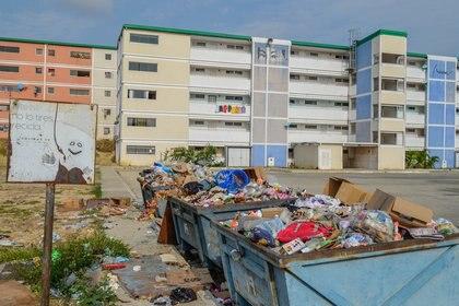 """En 2015, un informe reservado del gobierno venezolano determinó que hubo """"irregularidades"""" en la contratación y pago de sobreprecios a Sarleaf para la construcción de las viviendas en San Francisco de Yare. (Fernando Campos/Armando.info)"""