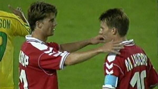 Michael y Brian Laudrup no pudieron hacer historia en el Mundial, pero se consagraron en la Eurocopa de 1992