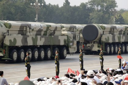 Misiles nucleares intercontinentales DF-31AG (Reuters)