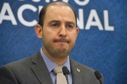 Marko Cortés aseguró que la propuesta de Morena era un distractor más para evitar la atención en el manejo de la epidemia de coronavirus (Foto: Cuartoscuro)