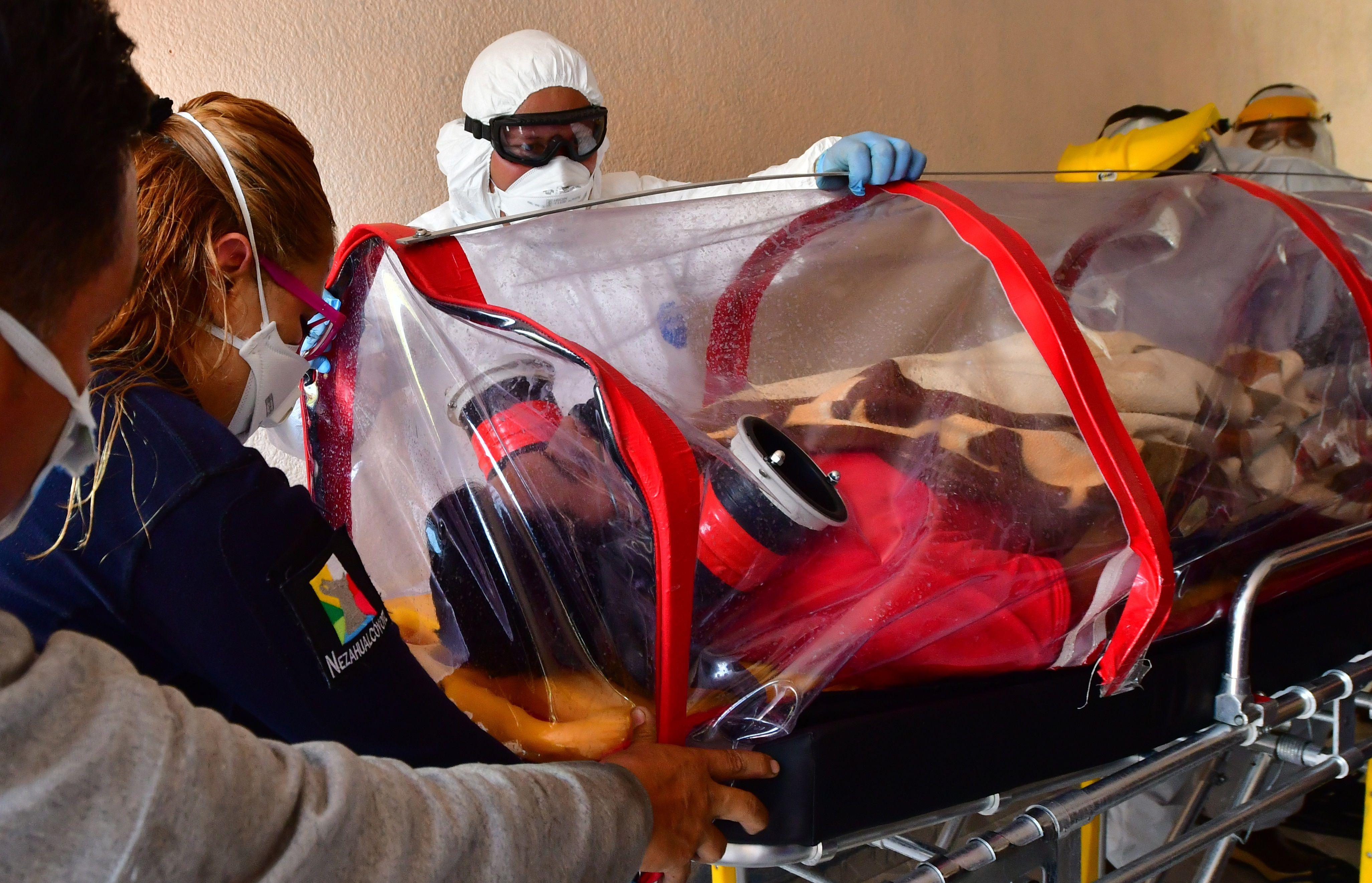 La entidad más afectada por la enfermedad de coronavirus en cuanto al número de casos positivos acumulados es la Ciudad de México (Foto: EFE)