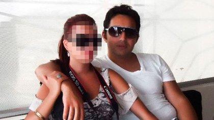 Jugador: Likaj y una mujer, foto de sus redes sociales