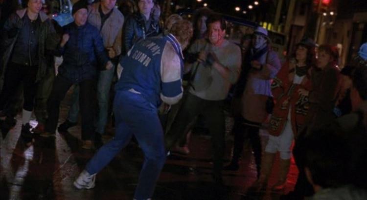 "La pelea callejera de ""Rocky V"""