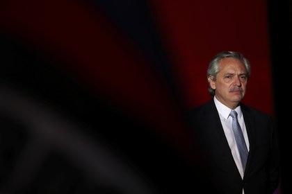 Alberto Fernández, presidente en los festejos de su asunción