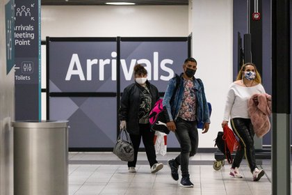 Les passagers arrivent à Londres (Bloomberg / archives)