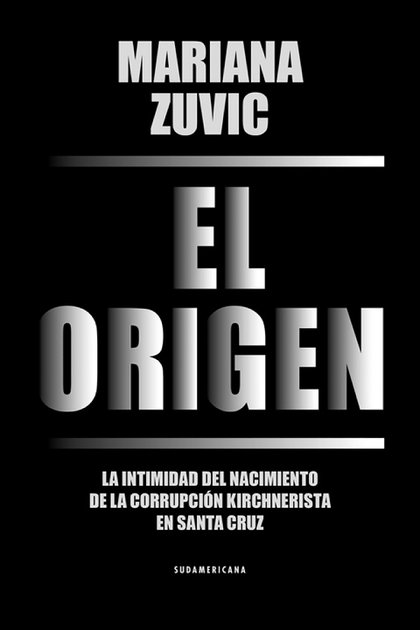"Portada de ""El origen"", de Mariana Zuvic"